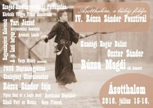 IV Rózsa Sándor fesztívál